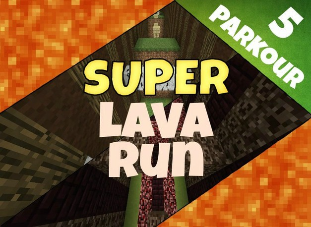 super-lava-run-map