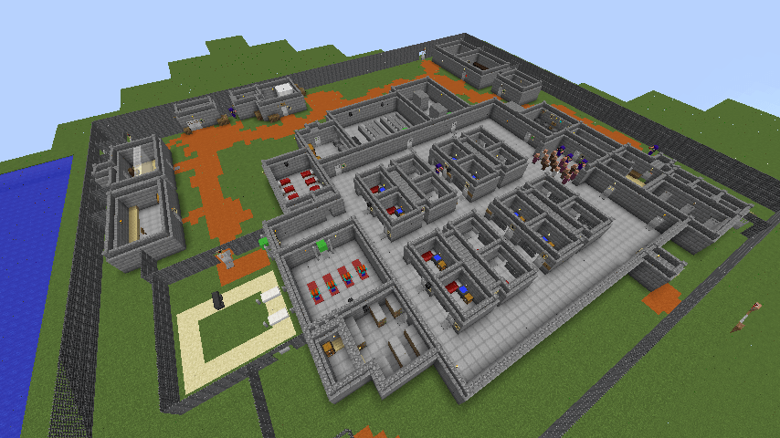 The Escapists Map For Minecraft MinecraftSix - Wie downloade ich maps fur minecraft
