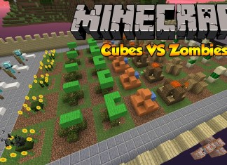 cubes vs zombies map