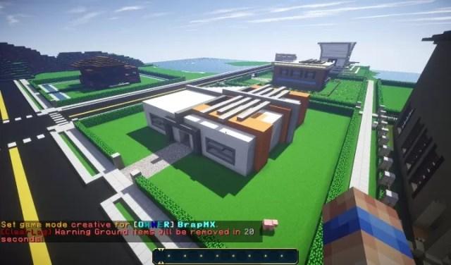 small-modern-town-minecraft