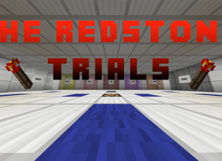 The Redstone Trials map