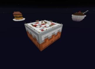 Sky Survival MinecraftSix - Micro cubes map para minecraft 1 8 descargar