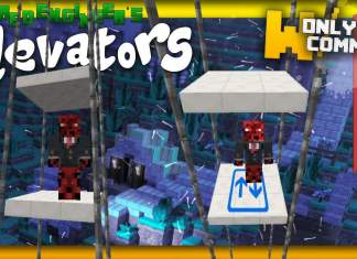 Customizable Elevators command block