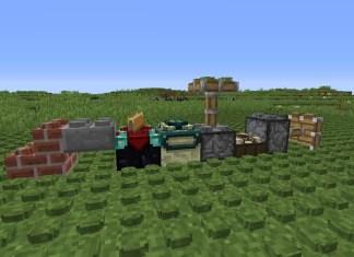 lego block models