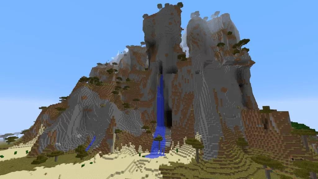 Mountain Seed for Minecraft 1 8   MinecraftSix