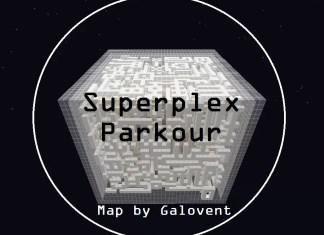 superplex parkour map