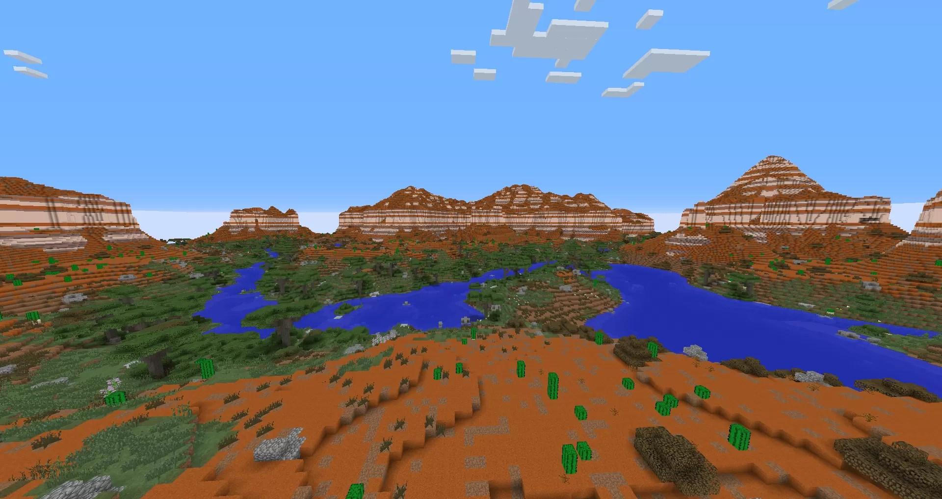 Realistic Terrain Generation Mod for Minecraft 1 9/1 8 9/1 7