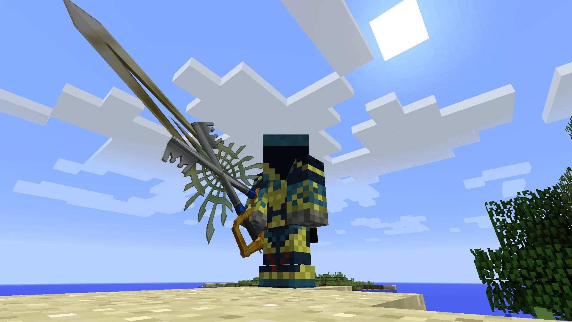 Kingdom Keys Re:Coded Mod for Minecraft 1.8.9/1.8/1.7.10 ...