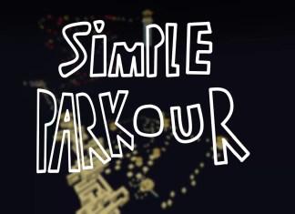 simple parkour map