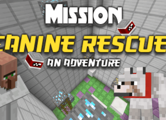 mission canine rescue map