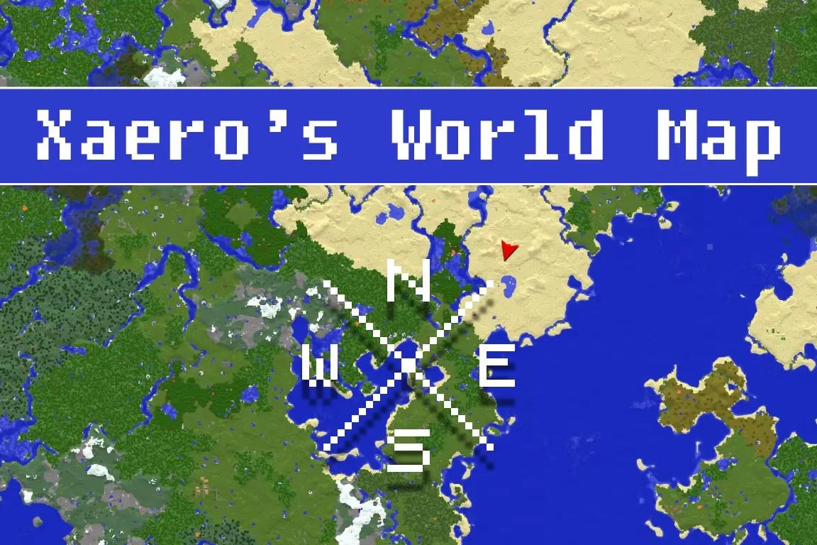 Xaeros World Map Mod For Minecraft MinecraftSix - Journey map para minecraft 1 11 2