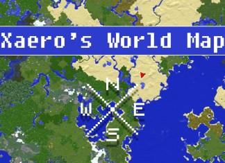 xaeros world map mod