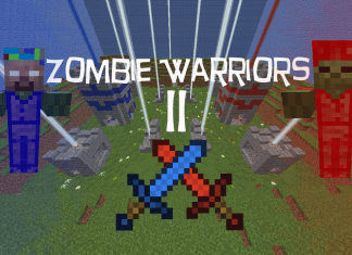 zombie warriors ll map