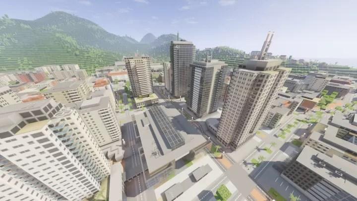 ASL's Mini City Resource Pack for Minecraft 1 11 2 | MinecraftSix