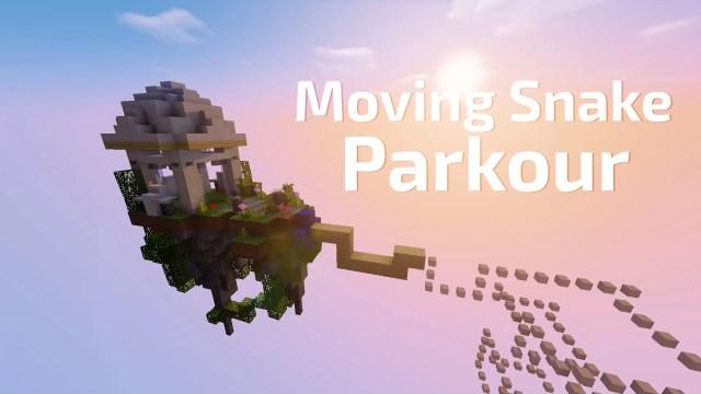 Moving Snake Parkour Map For Minecraft MinecraftSix - Mapas para minecraft 1 10 2 de parkour