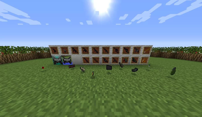 MineTheftAuto Resource Pack for Minecraft 1 11 2 | MinecraftSix
