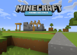 minecraft promo art resource pack