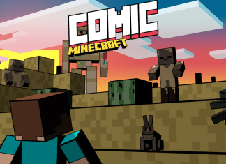 comic minecraft resource pack