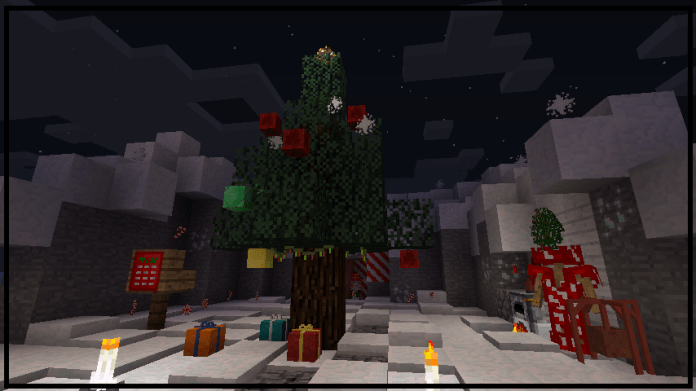 Christmas Minecraft World.Noel Mod For Minecraft 1 12 2 Minecraftsix