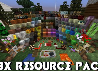 8x Resource Packs Minecraftsix