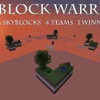 Skyblock Warriors Minecraft PvP Map Mini-Game Download