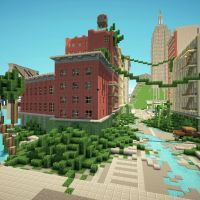 The Last of Us, Minecraft Apocalypse City Adventure Map Download