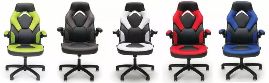 OFM ESSENTIALS LEATHER GAMING CHAIR