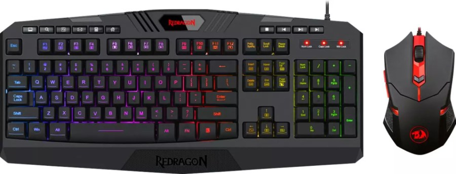 REDRAGON S101 KEYBOARD AND MOUSE