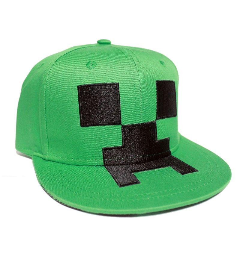 Minecraft Creeper Kasket Snapback