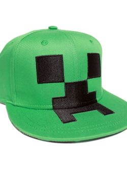 Minecraft Creeper Kasket Snapback