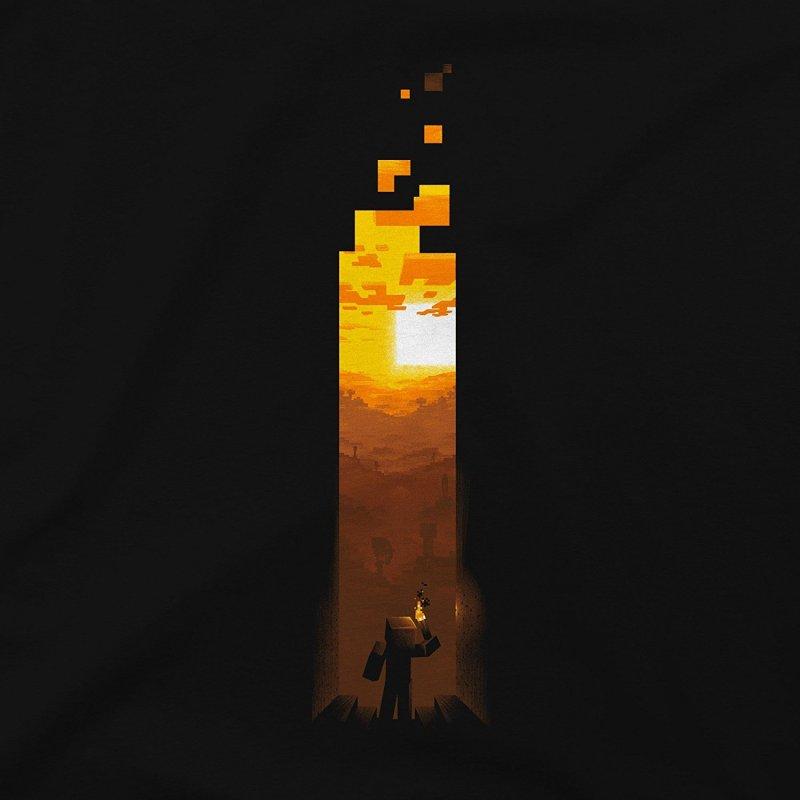 Minecraft Torch T-shirt1