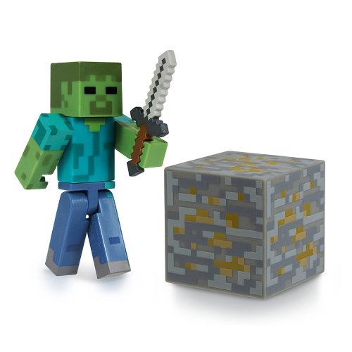 Minecraft Zombie Action Figur