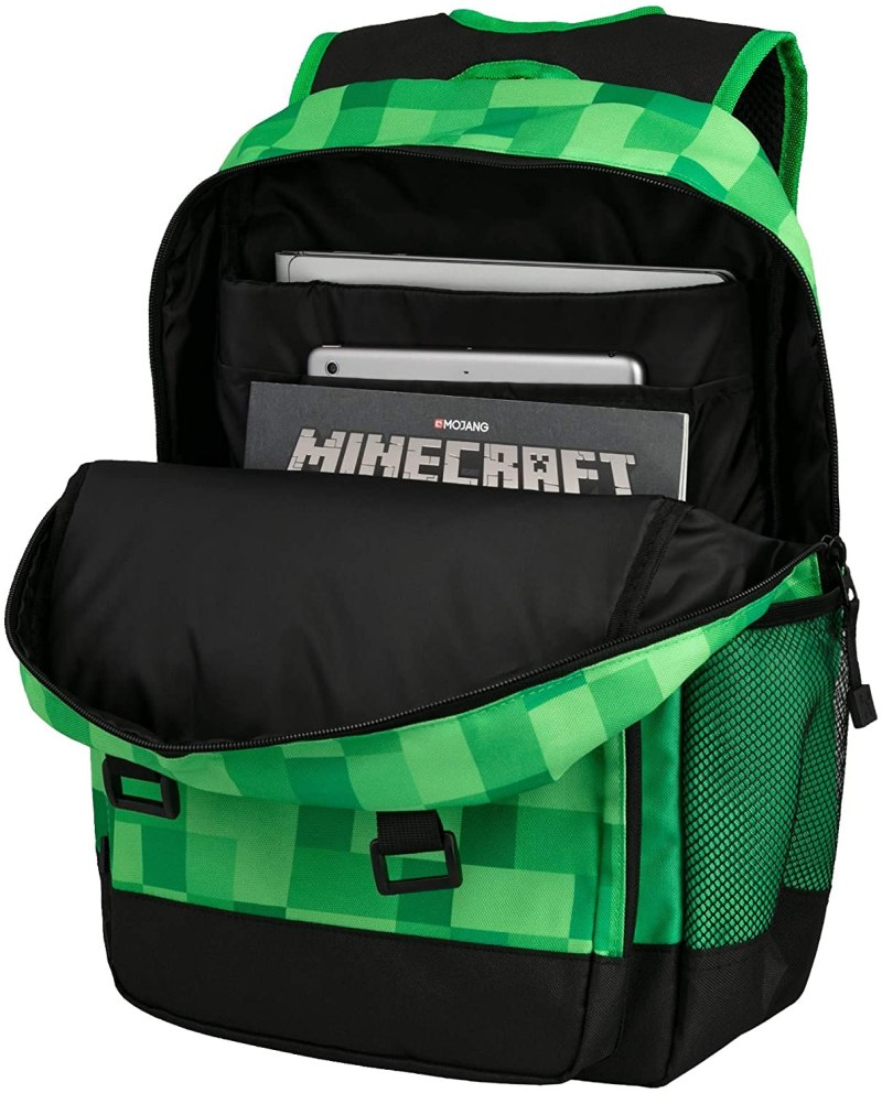 Minecraft Survival Skoletaske