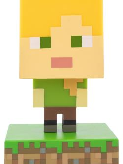 Minecraft Alex 3d bordlampe