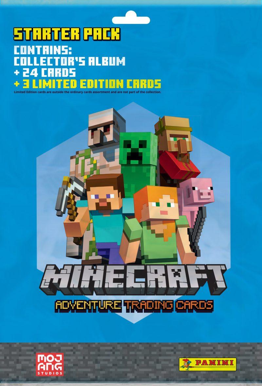 Minecraft Samlekort Starter Pack