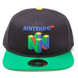 Nintendo snapback kasket