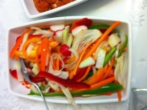 מסייר ירקות בלימון לקוסקוס