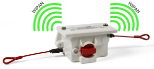 WiPan Conveyor Pullkey Monitoring Signal Monitoring with WiFi