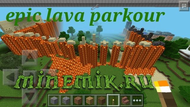 Sky - паркур 2 для Minecraft PE