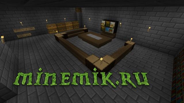 """Карта - """"Небольшой замок"""" для Minecraft PE"""