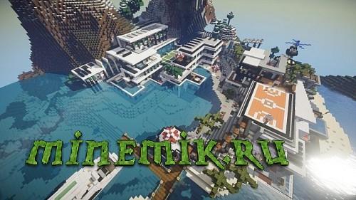 Modern City  для  Minecraft PE