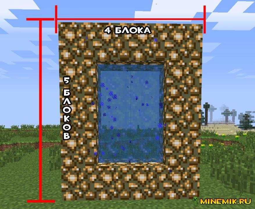 Майнкрафт как сделать портал в рай без модов фото 288