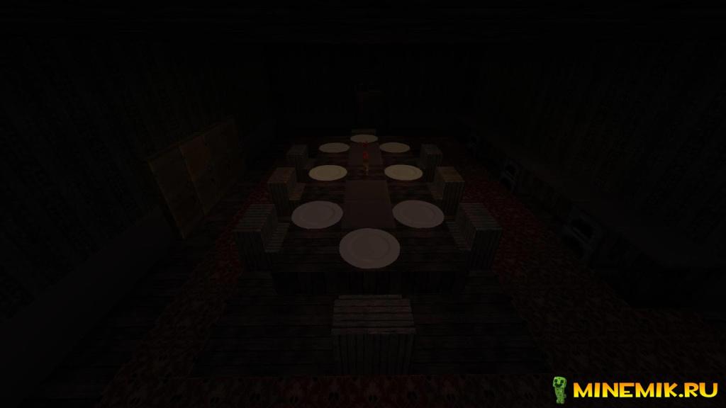 Скачать карту The Orphanage Horror для майнкрафт PE