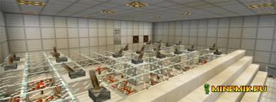 Карта Prison для майнкрафт PE 0.13