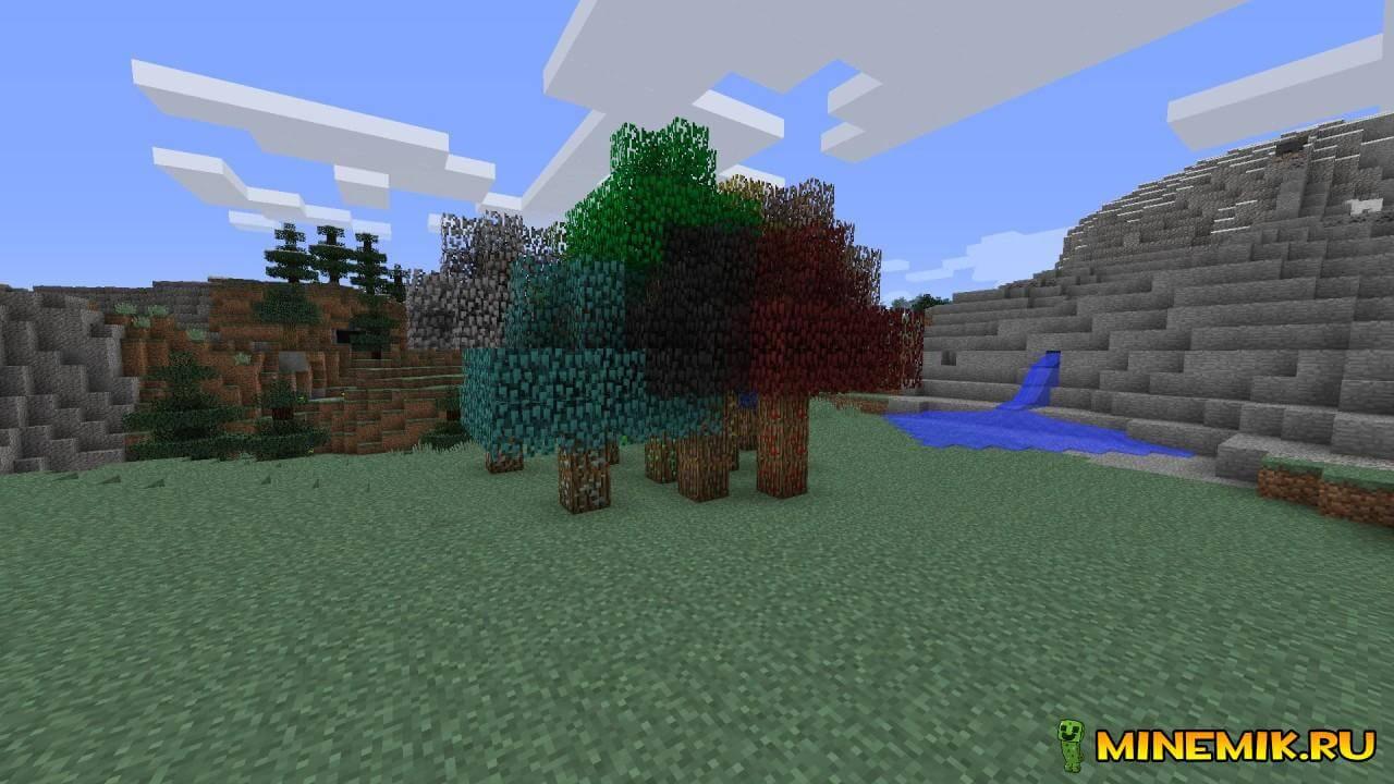 Скачать мод на алмазное дерево майнкрафт 1.7.10
