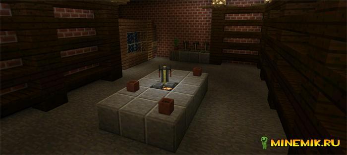Карта Witch's Mansion Escape для майнкрафт PE 0.13.0