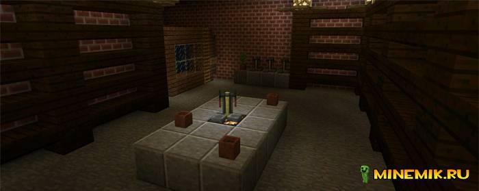 Крутая карта Witchs Mansion. Выберись из замка minecraft PE.