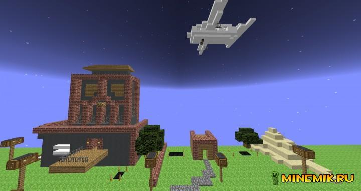 Карта Backflip Madness для minecraft PC