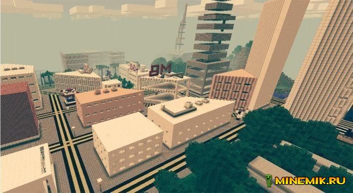 Карта Los Craftes для minecraft PE