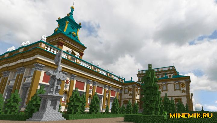 Дворец для Майнкрафт